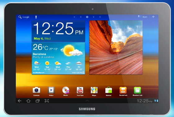 Samsung Galaxy Tab 10.1 Battery Life