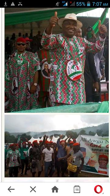 People Of Enugu West Offers To Buy Guber Nomination Form For Ugwuanyi