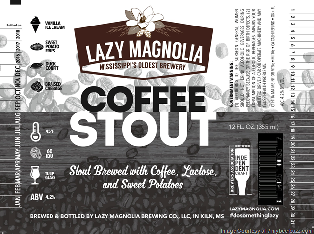 Lazy Magnolia Coffee Stout