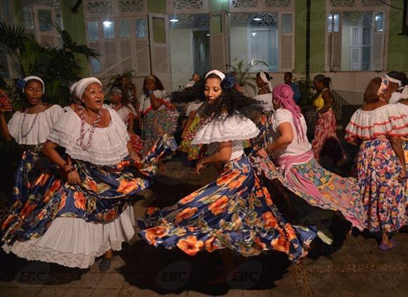 Coreiras del gruppo Arte Nossa, fonte: EBC