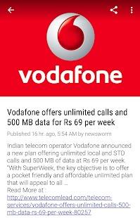 Telecom News - India - náhled