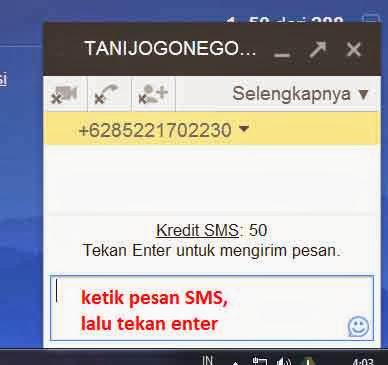 Kirim SMS Online Gratis Lewat Internet Menggunakan Gmail