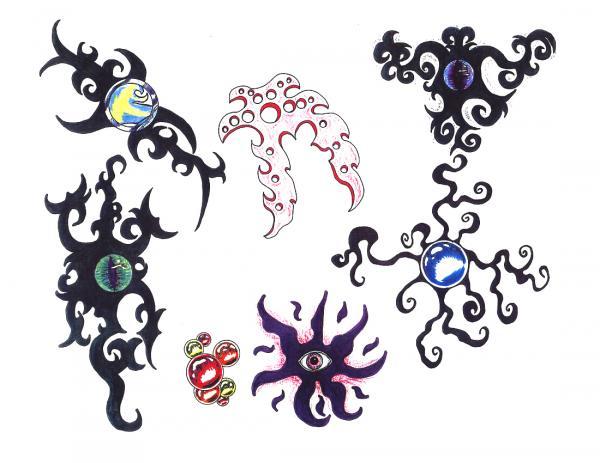 Design Of Silent Tattoo 8, Fantasy Tattoo Designs