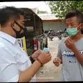 Terjaring Yustisi di Simpang Empat Jalan Hayam Wuruk Jombang, Lima Orang Disanksi