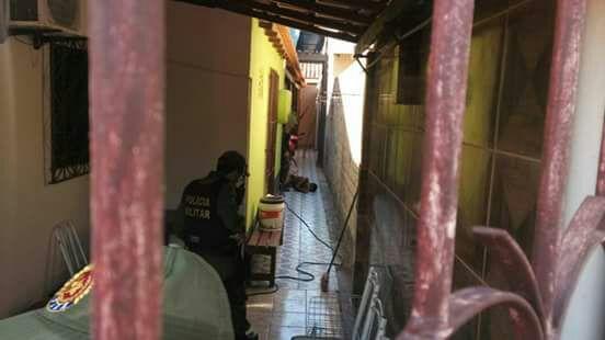 Depois de roubar carro vagabundo invade casa e leva tiro da PM em Santarém