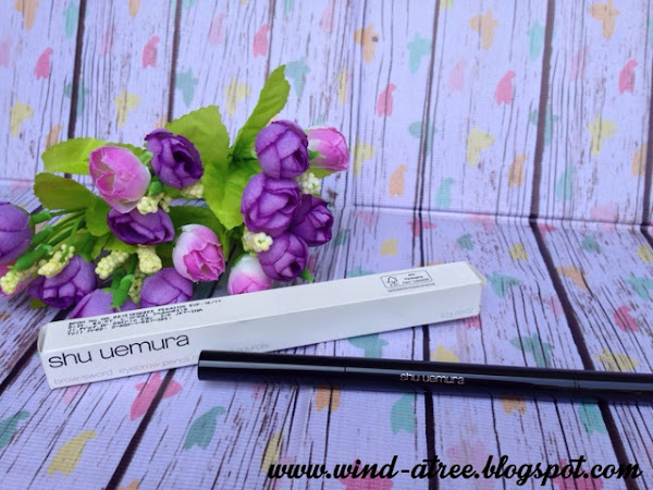 [Review] Shu Uemura Brow:Sword Eyebrow Pencil - Brown