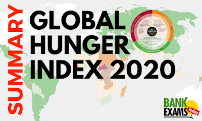 Global Hunger Index 2020- Summary