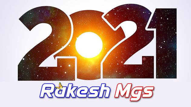 Happy New Year 2021 RakeshMgs