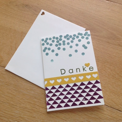 Stampin up Dotty Angles