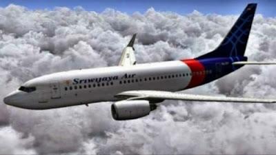 Ilustrasi. Sriwijaya Air SJY 182 Hilang Kontak Bawa 56 Penumpang Termasuk 3 Bayi, Petugas Melihat Serpihan.