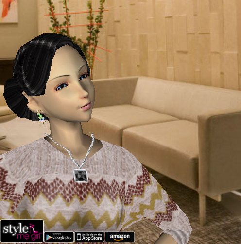 Style Me Girl Level 2 - Victoria - Office - Close-up