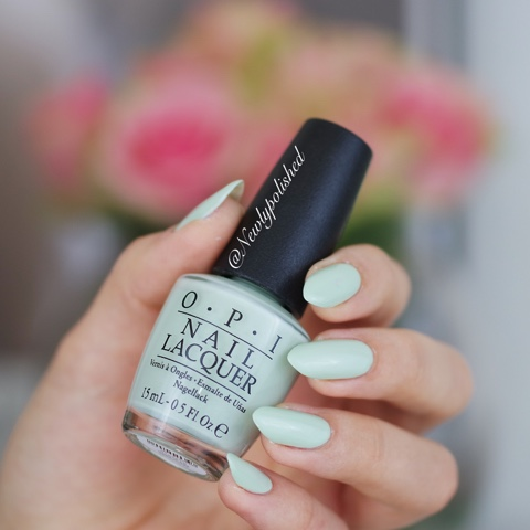 OPI This cost me a mint Soft Shades Pastels 2016