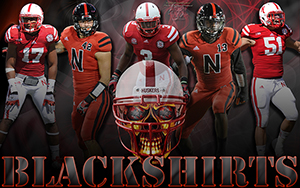 Nebraska Blackshirts 2012 Wallpaper