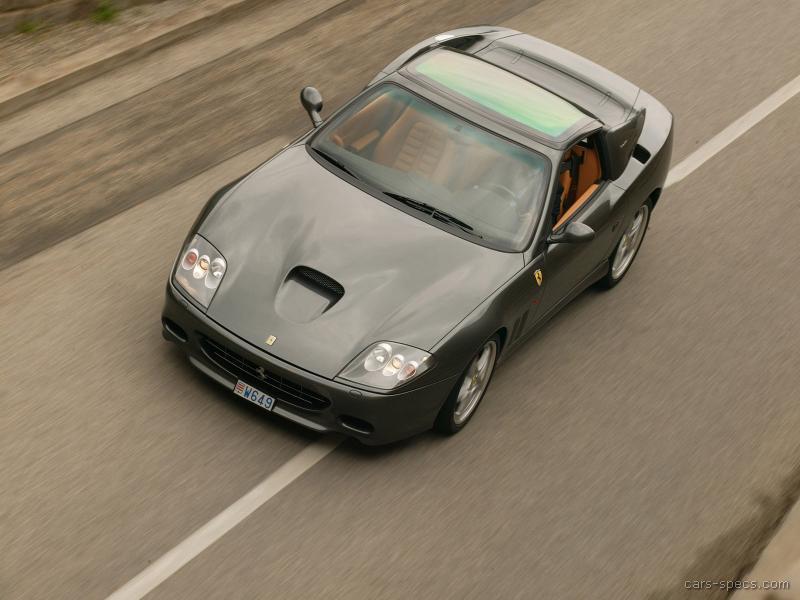 2005 Ferrari Superamerica Convertible Specifications Pictures Prices