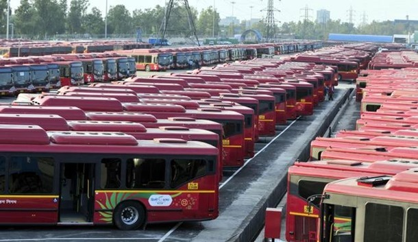 World's Largest Bus Depot - Millennium Park Delhi
