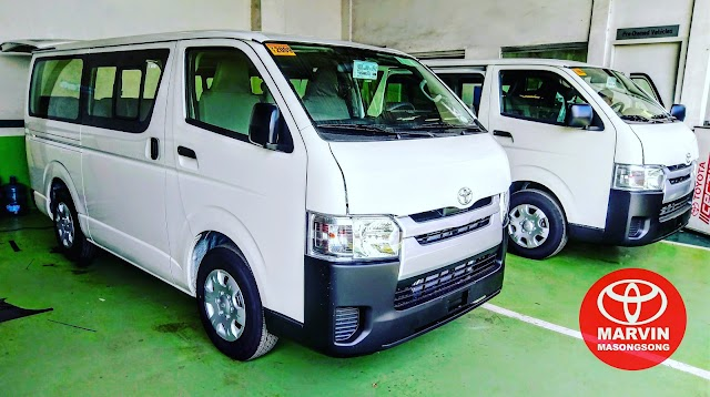 2018 #ToyotaHIACE Commuter (16seaters) - Php 1,373,000