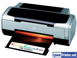 How to reset Epson PX-G5100 with program