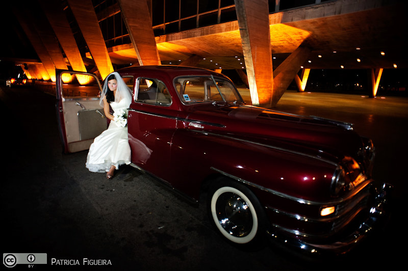 Foto de casamento 1271 de Monique e Joel. Marcações: 04/09/2010, Carro, Casamento Monique e Joel, Rio de Janeiro.