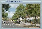 Winschoten. Rechts S Bank. Gelopen gestempeld in 1990.