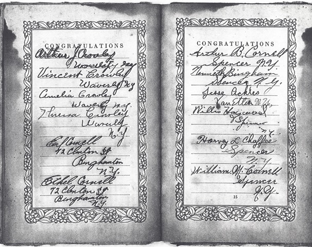 Hammond James & Edna Wedding book 2