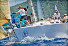 J/39 cruiser racer sailboat- sailing Antigua Sailing Week
