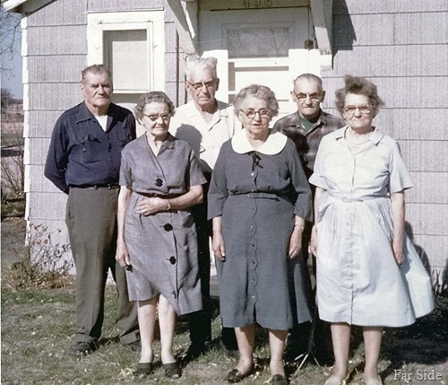 Bernard Frank Ernest Ethel Amy and Meade Lemon Brothers and sisters
