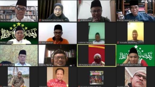 LAZISNU Sumbar Diminta Bangun Kepercayaan Muzakki dan Warga Nahdiyin