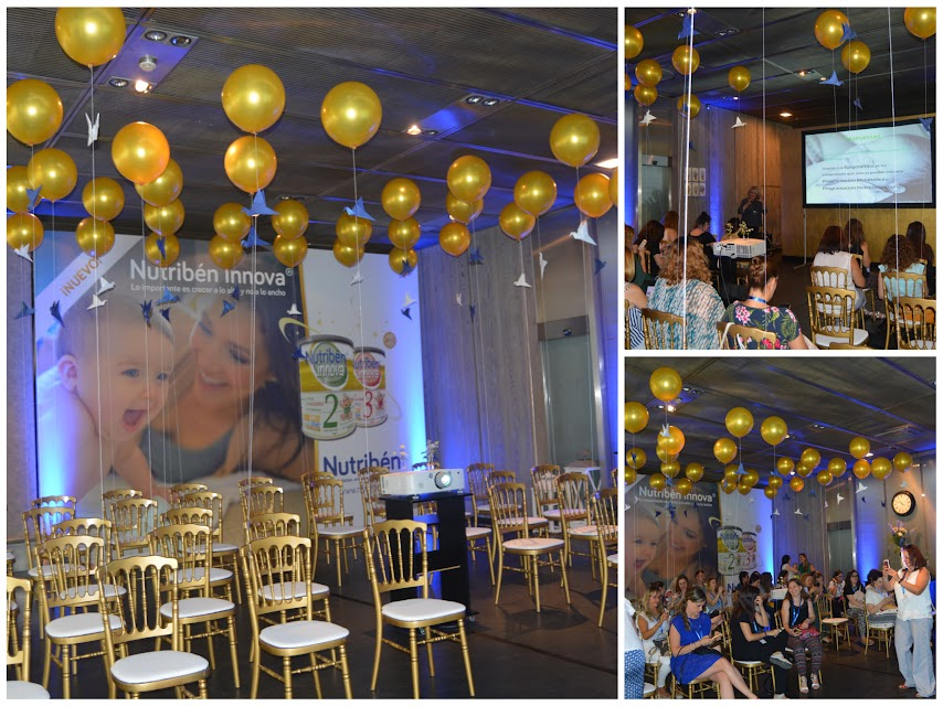 Ponencias de los pediatras en el evento de Nutribén Innova
