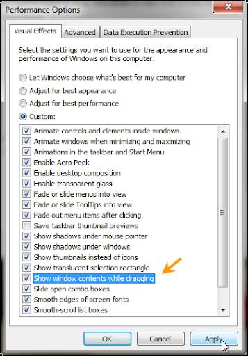 อยากทราบวิธีการแก้ปัญหาตอนเราขยับหน้าต่างProgramครับ [ตอบแล้ว] Windowsdarg06