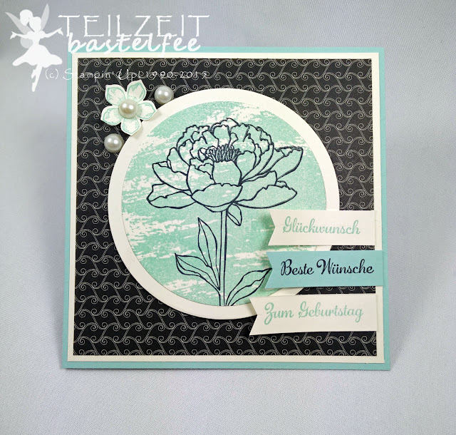 Stampin' Up! - In{k}spire_me #233, Sketch Challenge, Alles wird gut, You got this, In Worte gefasst, Express Yourself, Petite Petals, Framelits Circle Collection, DSP Timeless Elegance