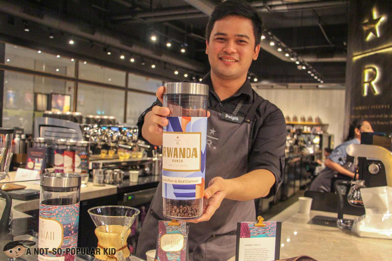 Coffee Tasting at Starbucks Reserve in Valero, Makati