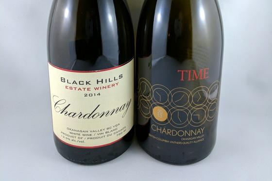 Black Hills 2014 Chardonnay & TIME 2013 Chardonnay