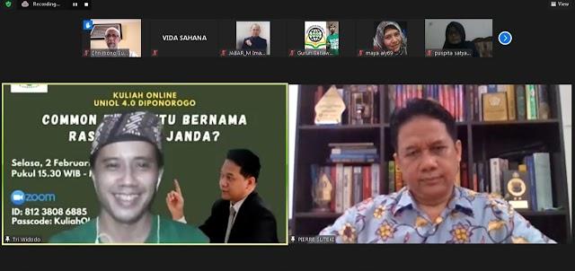 Prof. Suteki: Diduga Rasis, Abu Janda Terancam 5 Tahun Bui
