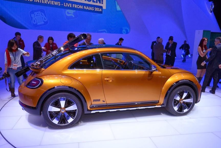 Volkswagen Beetle Dune Concept NAIAS 3