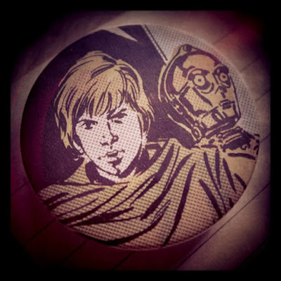 Luke & Threepio pin badge by Meridian Ariel