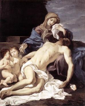 Pietà - Giovanni Battista Gaulli