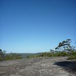 Crossing a large rock platform in Brisbane Waters National Park (375700)