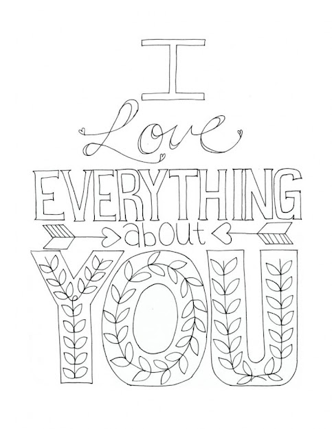 Love You Coloring Pages For Adults On With Adult