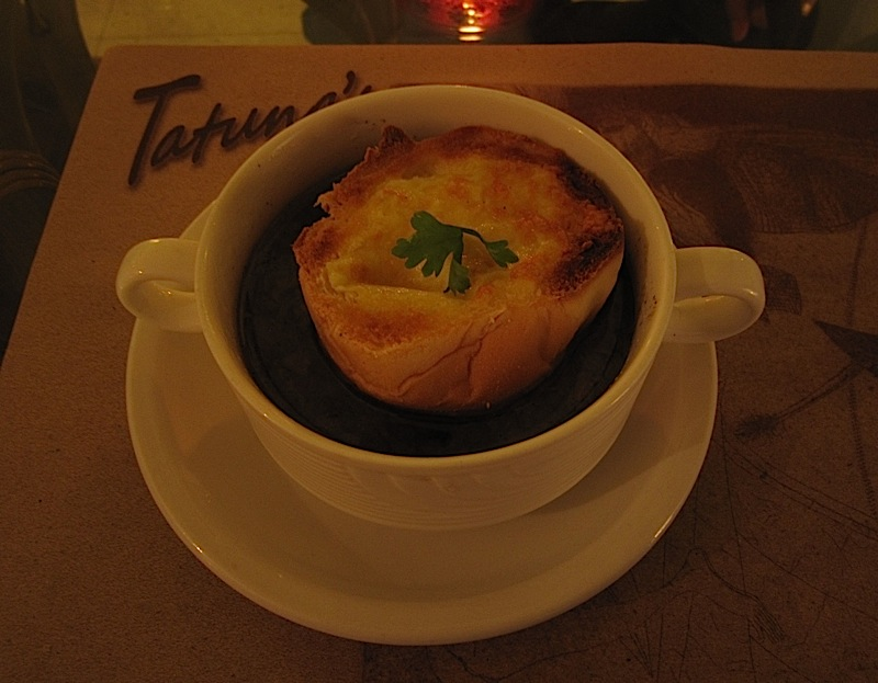 Tatung's onion soup