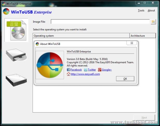 WinToUSB Enterprise 3 0 Full สร้างแผ่นบูท Windows ลง USB