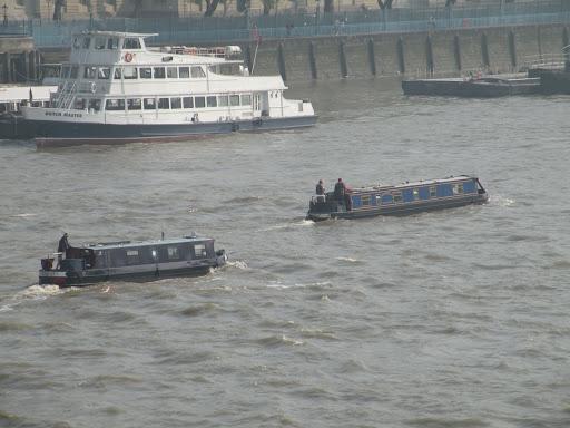 Лодки на Тэмзе