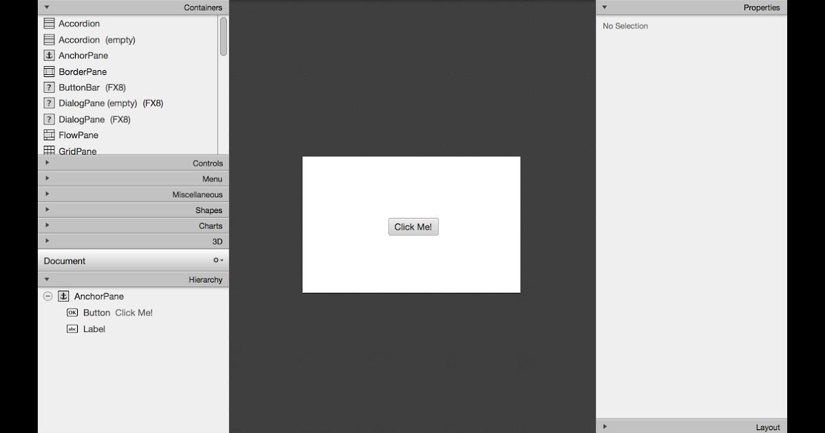 Javafx scene builder 2 0 netbeans mac | agotrada ml