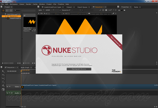 The Foundry Nuke 10 Studio