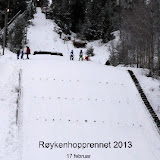 2013 - Røykenhopprennet