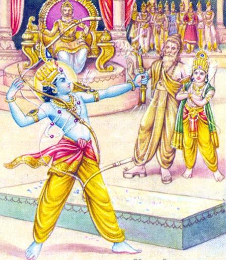 Shiva-Dhanush-Bhang by Rama