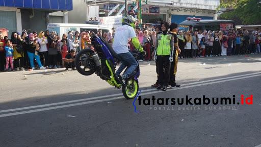 Car Free Day Palabuhanratu Jadi Ajang Kampanye MRSF