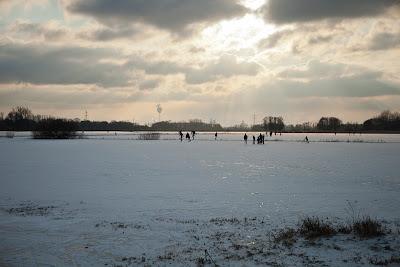 Eislaufen auf den Hammewiesen