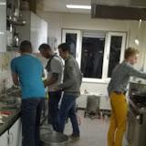 Actie in de keuken
