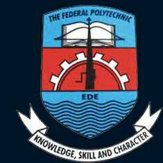 FEDERAL POLYTECHNIC EDE: HND, DPT APPLICATION CLOSING DATE ANNOUNCE