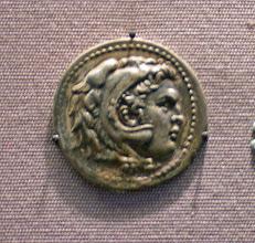 Photo: Alexander Tetradrachme. Mint of Sikyon. 225-215 BC